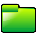 generic, green, folder icon