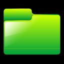 generic, green, folder icon