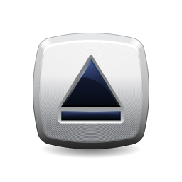 eject, button icon