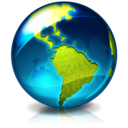 earth, browser, internet, world icon