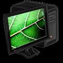 Computer, Leaf, My icon