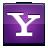 social, yahoo, messenger icon