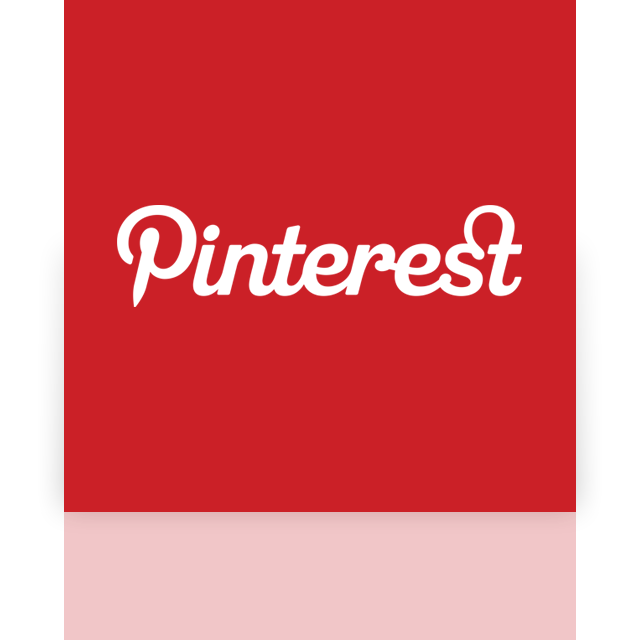 pinterest, mirror icon