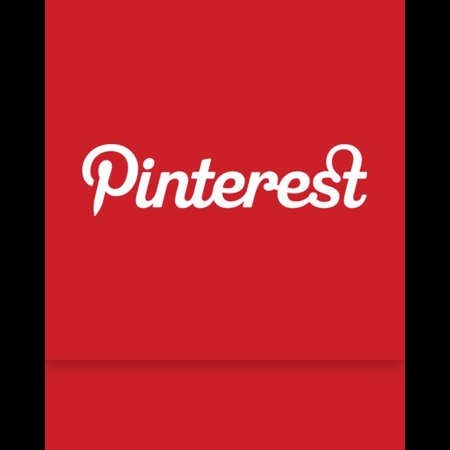 pinterest, mirror icon