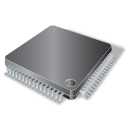 smd, chip, circuit, pin, chipset, attach icon