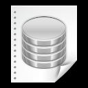 file, document, database icon