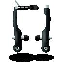Bike, Brake, texto, Mountain, v icon