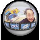 orb, photoalbum icon