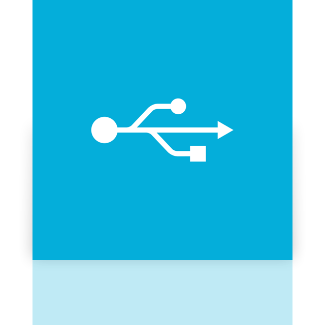 mirror, usb, alt icon