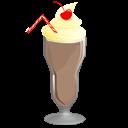 Chocolate, Milkshake icon