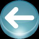 left, back, previous, backward, prev, arrow icon