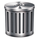delete, remove, trash, garbage icon
