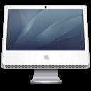 imac, graphite icon