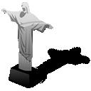 christ, brazil, statue icon