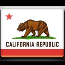California, Flag icon