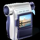 camcorder, cam, camescope, video, camera icon
