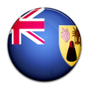 country, flag, and, turk, caicos, island icon