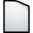 paper, writing, document, blank icon