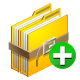 archive, add icon