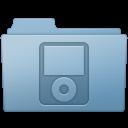 IPod Folder Blue icon