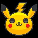 play, pikachu, pokemon, go, game icon