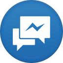 messenger, facebook icon