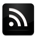 And, Black, Rss, White icon