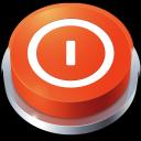 Perspective Button Shutdown icon