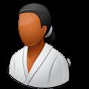 Sport Wrestler Female Dark icon