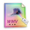 paper, wmv, file, document, video icon