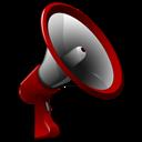 3d, Announcement icon