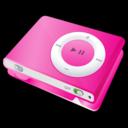 ipod,shuffle,pink icon