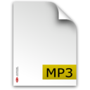 mp3,fileextension icon