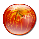 apple, fruit, food icon