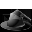 hat, jack o lantern, witch icon