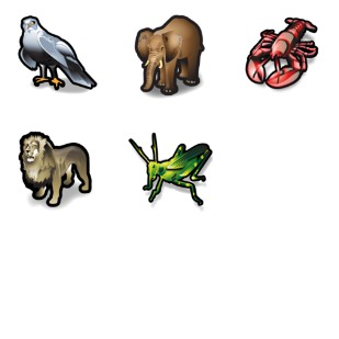 Stroke Animals icon sets preview