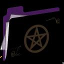 Pentacle Folder (purple) icon