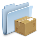 folder,badged,package icon