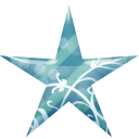 star,blue,favourite icon