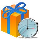 Clock, Recyclebin icon