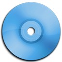 Blue, Cd, Dvd icon