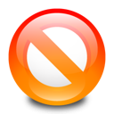 disallow, adblock, stop icon