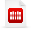 paper, document, file, red icon