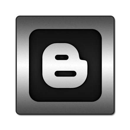 square, blogger, logo icon