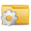 option, folder icon
