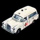 Ambulance, Benz, Mercedes icon