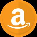 online store, buy online, amazon, amazon logo, sell online icon