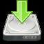 download, save, harddisk icon