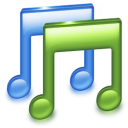 note, music icon