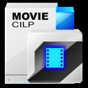 movie, video, film, cilp icon